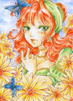 Aceo - Flower by cross-works