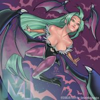 M is for Morrigan by cirgy