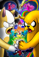 Adventure Time: Worlds Collide by KT-245