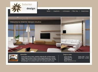 Interior Design Template by la-web