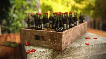 Lost Crate CocaCola by abhinendrachauhan