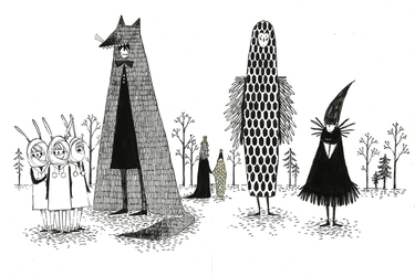 Creatures of the Black Forest by molnareszter