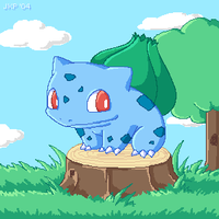 Bulbasaur by stardroidjean