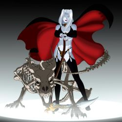 lady death anime kind of style by idomuchris