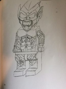 LEGO Green Goblin by doctorwhooves253