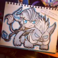 Chibi Sejauni (LoL Secret Santa) by MissKilvas