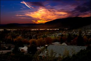 Sunset in Kelowna by SpyhopGL