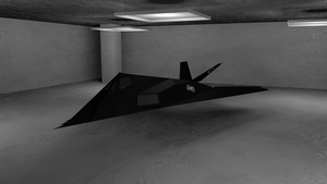 F-117 Nighthawk by Pitel