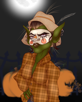 Trick or Treat:  Wread - Scarecrow by MischiArt