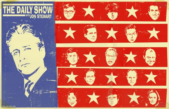 The Daily Show by markwelser