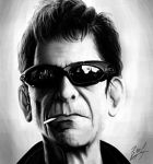 Lou Reed by Beus-B