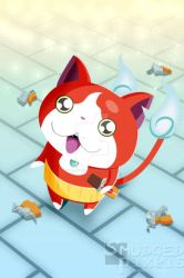 Jibanyan - Commission by SmudgedPixelsArt
