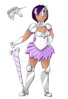 The Milky Way Calvary: Sailor Monoceros by Ninapedia