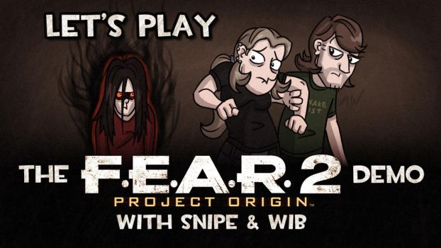 Let's Play F.E.A.R. 2 Demo Title Card by wibblethefish
