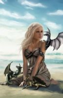 Mother of Dragons by jadeedge