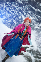 Princess Anna of Arendelle by dragonanjo