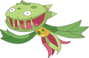 Carnivine - PL Sprite to Anime by pokesafari