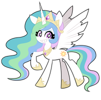 Princess Celestia by nekozneko