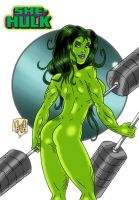 She Hulk by violencejack666