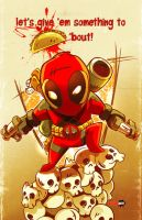 Deadpool Chibi Style by DustinEvans