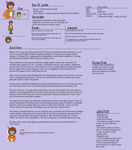Rex Character Profile *OLD by RacketFewl