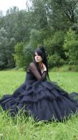 ...Gothic Queen XIV... by Black-Ofelia-Stock