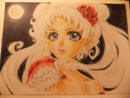 Princess Serenity - I only want to love by ArtTreasure