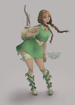 Ranger Type Character by camellia-shia