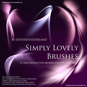 Simply Lovely Brushes by differentxdreamz