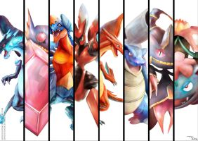 Pokemon Mega Collection by Advent-Hawk