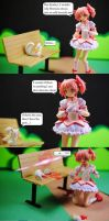 Madoka shows her love to Homura by Miettechan
