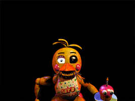 FNAF [Withered ToyChica] Gif... by Christian2099