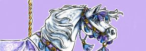 Carousel Bookmark: Arabian by Hbruton