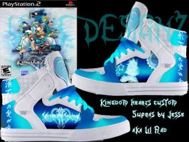 Custom Kingdom hearts 2 supras by JJFX-MULTIMEDIA
