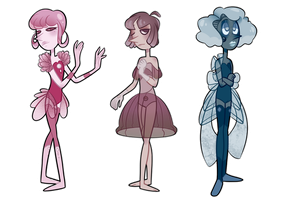 Pearl Adoptables! (CLOSED) by ClericlyDepressed