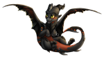 Darksoot Chibi by 16Shards