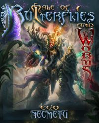 Tale of Butterflies and Worms Bookcover Version by IosifChezan