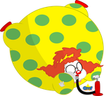 Inflated Dibby the Clown by Tiny-Toons-Fan