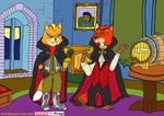 Request [Fox McCloud and Nick Wilde as vampires] by Scarlet-omega