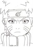 The simplest Naruto EVER. by Da-Ruka