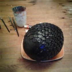 Game of Thrones Dragon Egg (WIP) by BigMamaBear