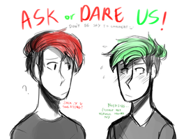 Ask Or Dare US!! [Septiplier] (CANCELED) by CaseyKeshui