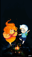 adventure time - fireflies by shorelle