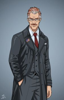 Deputy Mayor Jim Gordon (Earth-27) commission by phil-cho