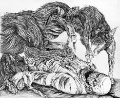 Carnivorous Canines by WretchedSpawn2012