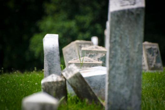 Some Headstones by kiltic