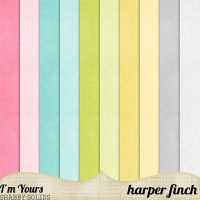 I'm Yours Shabby Solids by harperfinch