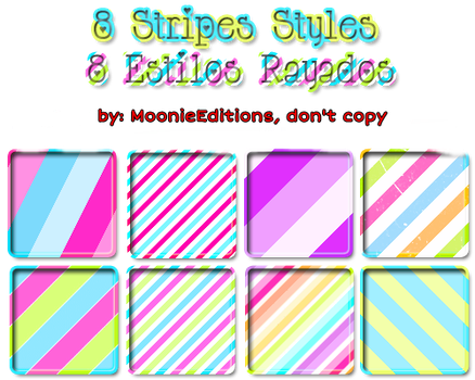 Styles for PhotoShop '' Style Candy '' by MoonieEditions