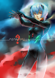 NGE + AYANAMI ''?'' by BakaMandy