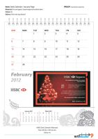 HSBC Desk Calendar Propose 3 by phyoeminthaw